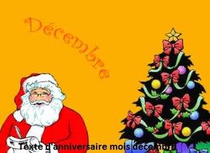 texte 2Banniversaire 300x219 - TEXTE D'ANNIVERSAIRE MOIS DECEMBRE