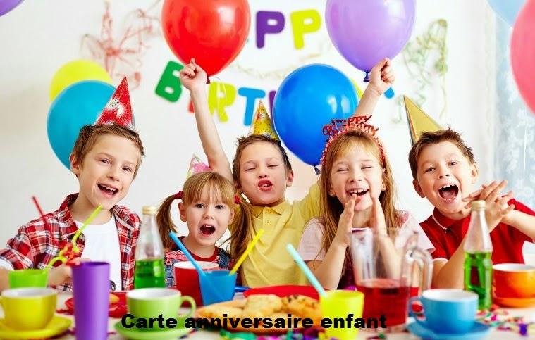 104 texteanniversaire - CARTE ANNIVERSAIRE ENFANT