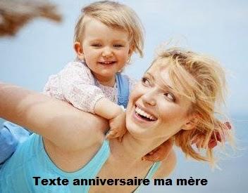 121 texteanniversaire - TEXTE ANNIVERSAIRE MA MERE
