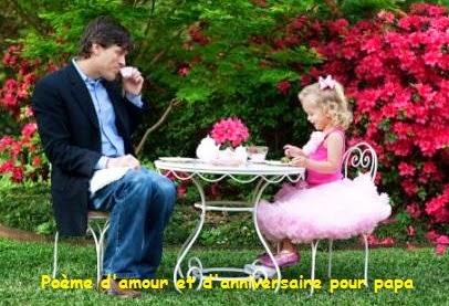 134 texteanniversaire - POEME D'AMOUR ET D'ANNIVERSAIRE POUR PAPA