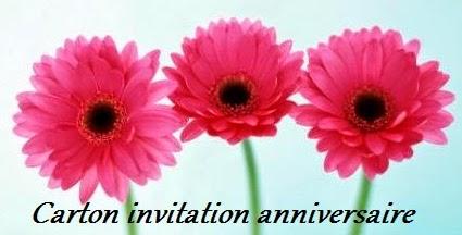 13 texteanniversaire - CARTON INVITATION ANNIVERSAIRE