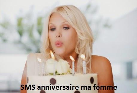 142 texte2Banniversaire - SMS ANNIVERSAIRE MA FEMME