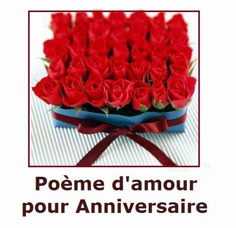 146 texteanniversaire - POEME D'AMOUR POUR ANNIVERSAIRE