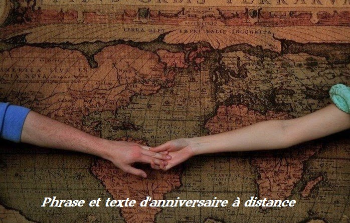 154 texte2Banniversaire - PHRASE ET TEXTE D'ANNIVERSAIRE A DISTANCE