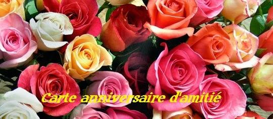155 texte2Banniversaire - CARTE ANNIVERSAIRE D'AMITIE