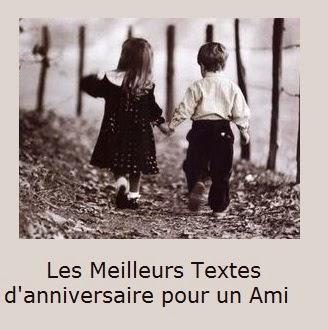 Les Meilleurs Textes Danniversaire Pour Un Ami Texte