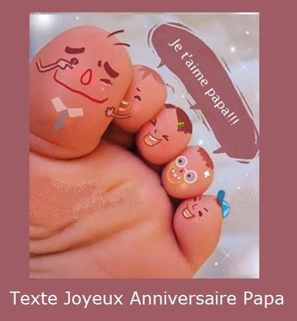 Texte Joyeux Anniversaire Papa Texte Message Et Poème D