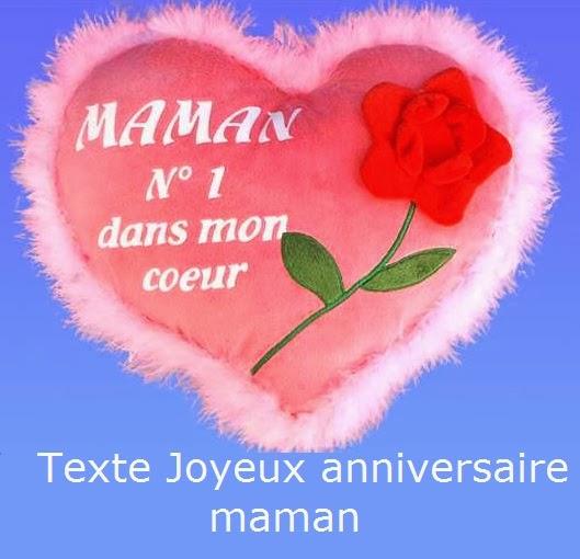162 texteanniversaire - TEXTE JOYEUX ANNIVERSAIRE MAMAN