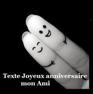 Joyeux Anniversaire Mon Ami Texte Message Et Poème D