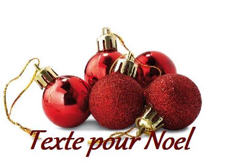 1 texteanniversaire - TEXTE POUR NOEL