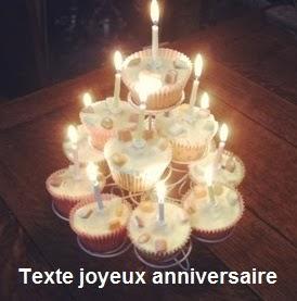 238 texteanniversaire - TEXTE JOYEUX ANNIVERSAIRE