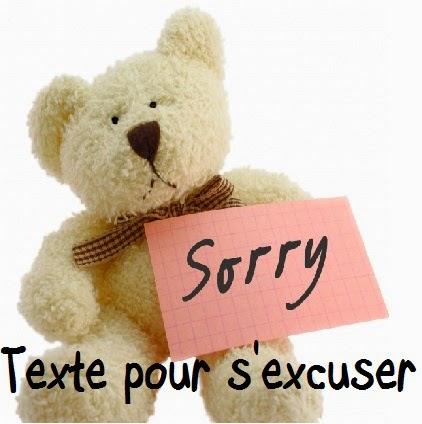 23 texteanniversaire - TEXTE POUR S'EXCUSER
