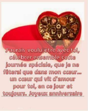 265 texteanniversaire - CARTE CHOCOLAT D'ANNIVERSAIRE
