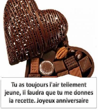 269 texteanniversaire - CARTE CHOCOLAT D'ANNIVERSAIRE