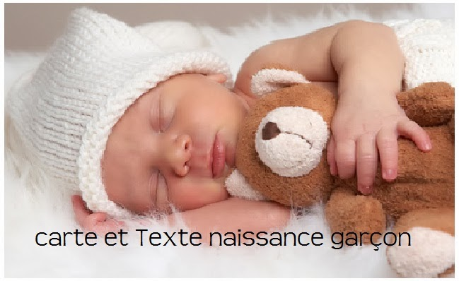 283 texteanniversaire - CARTE NOUVEAU NE GARCON