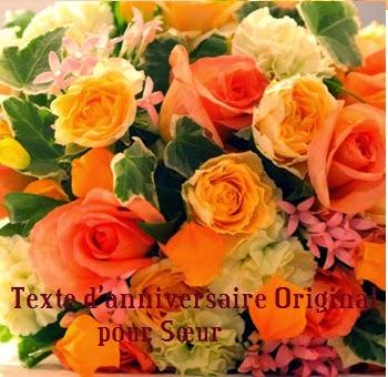 284 texteanniversaire - TEXTE D'ANNIVERSAIRE ORIGINAL POUR SOEUR