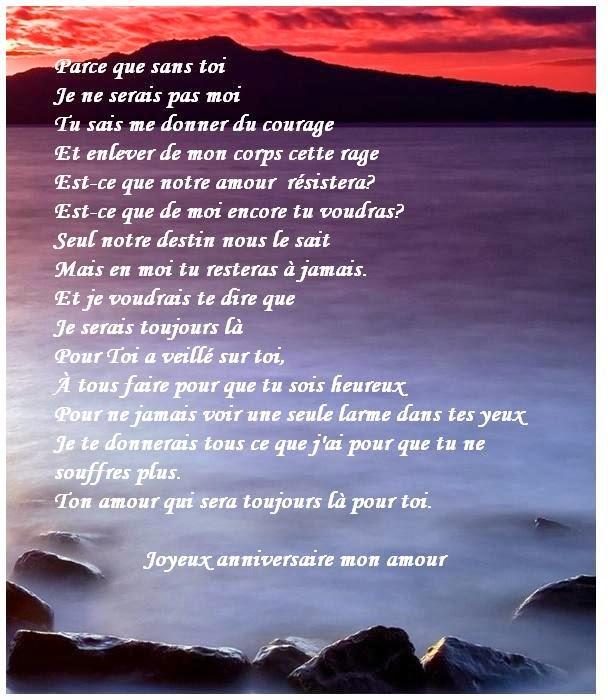 306 texteanniversaire - POEME D'AMOUR POUR ANNIVERSAIRE