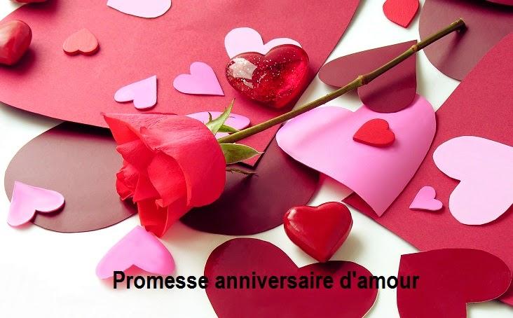 309 texte2Banniversaire - PROMESSE ANNIVERSAIRE D'AMOUR