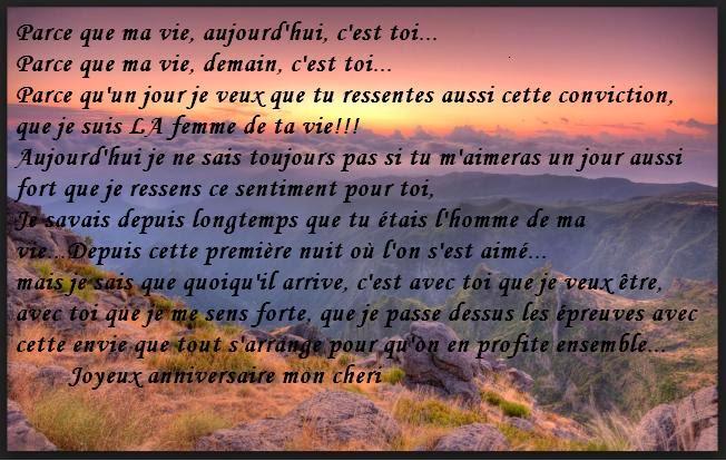 310 texteanniversaire - POEME D'AMOUR POUR ANNIVERSAIRE