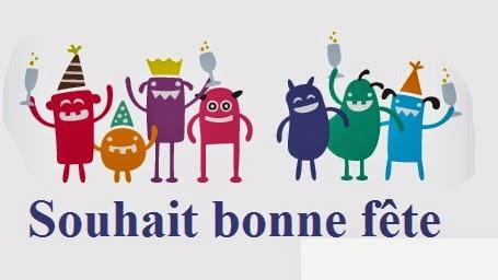 312 texte2Banniversaire - SOUHAIT BONNE FETE