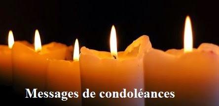 325 texte2Banniversaire - MESSAGE DE CONDOLEANCES