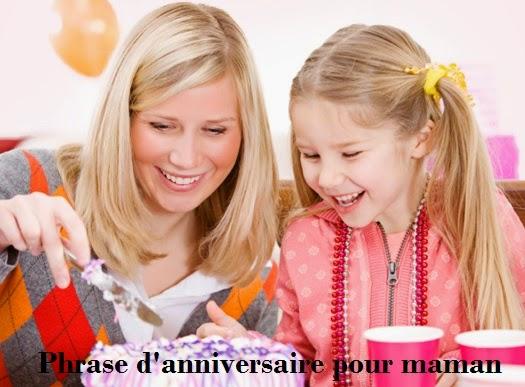 327 texteanniversaire - PHRASE D'ANNIVERSAIRE POUR MAMAN