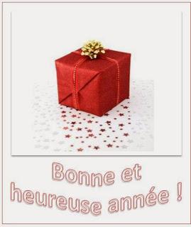 344 texteanniversaire - CARTE BONNE ANNEE THEME CADEAU