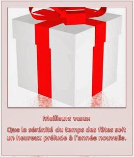 346 texteanniversaire - CARTE BONNE ANNEE THEME CADEAU