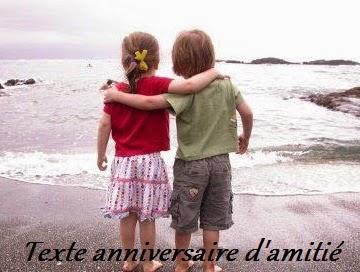 352 texte2Banniversaire - TEXTE ANNIVERSAIRE D'AMITIE