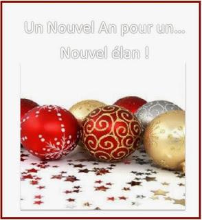 355 texteanniversaire - BONNE ANNEE THEME BOULE DE NOEL