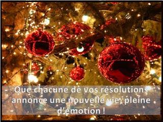 356 texteanniversaire - BONNE ANNEE THEME BOULE DE NOEL