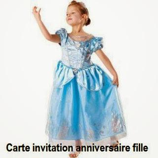 385 texteanniversaire - CARTE INVITATION ANNIVERSAIRE FILLE