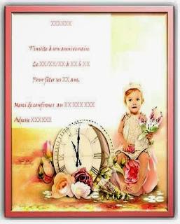 388 texteanniversaire - CARTE INVITATION ANNIVERSAIRE FILLE