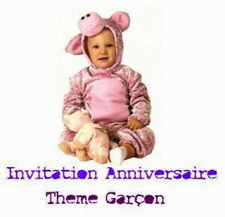 400 texteanniversaire - CARTE INVITATION ANNIVERSAIRE GARCON