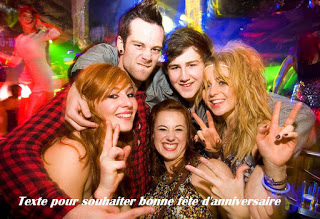43 texte2Banniversaire - TEXTE POUR SOUHAITER BONNE FETE D'ANNIVERSAIRE
