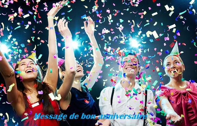 46 texte2Banniversaire - MESSAGE DE BON ANNIVERSAIRE
