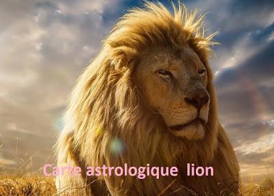 6 texte2Banniversaire - CARTE ASTROLOGIQUE LION