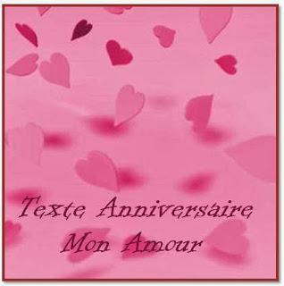 721 texteanniversaire - JOYEUX ANNIVERSAIRE MON AMOUR