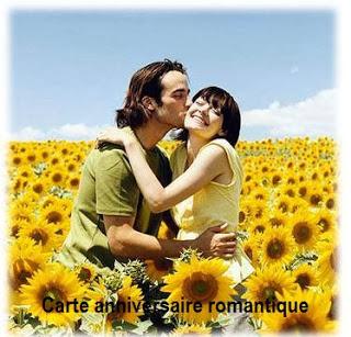 794 texteanniversaire - CARTE ANNIVERSAIRE ROMANTIQUE