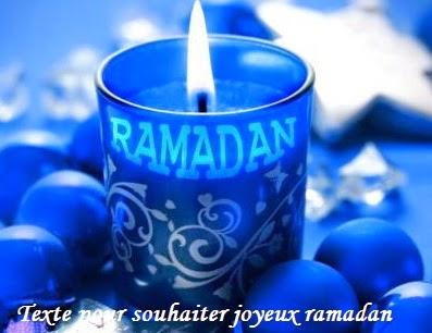 843 texteanniversaire - TEXTE POUR SOUHAITER JOYEUX RAMADAN