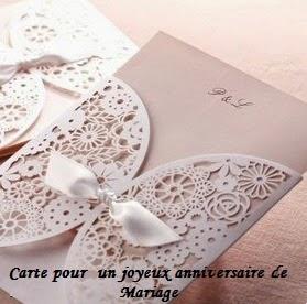 847 texteanniversaire - CARTE POUR UN JOYEUX ANNIVERSAIRE DE MARIAGE