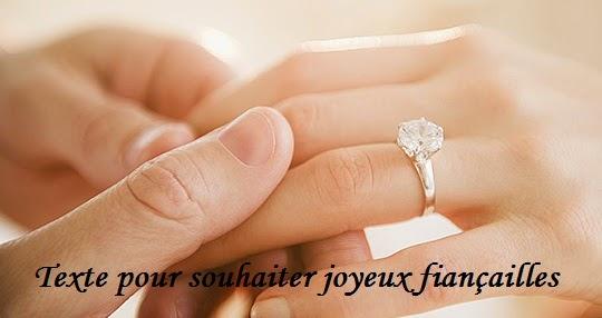 853 texteanniversaire - TEXTE POUR SOUHAITER JOYEUX FIANCAILLE