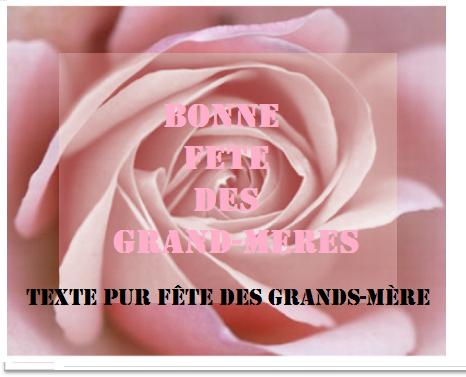 8 texteanniversaire - TEXTE POUR FETE DES GRAND-MERES