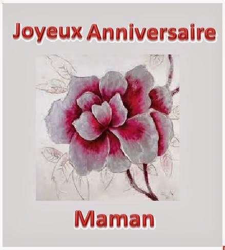 96 texteanniversaire - CARTE JOYEUX ANNIVERSAIRE MAMAN