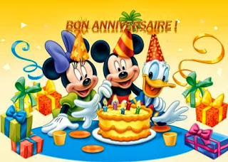 texteanniversiare - CARTE ANNIVERSAIRE THEME CARTOON