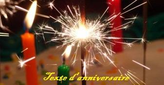 texted2527anniversaire - TEXTE D'ANNIVERSAIRE, DES TEXTES POUR SOUHAITER JOYEUX ANNIVERSAIRE