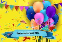 Texte anniversaire 2019