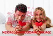 MESSAGE D'ANNIVERSAIRE MARIAGE
