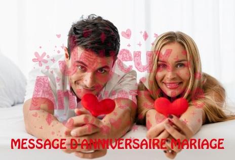 Message Danniversaire Mariage Texte Message Et Poème D