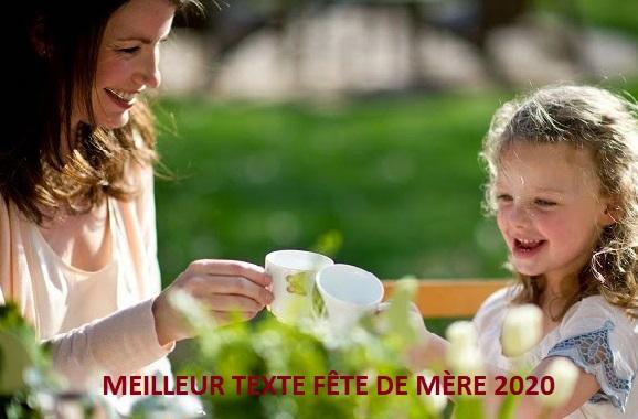 texte danniversaire - MEILLEUR TEXTE FÊTE DE MÈRE 2020